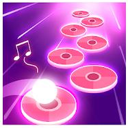 Pink Tiles Hop 3D
